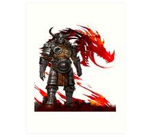 Guild Wars 2 - Nord Man Art Print