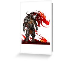 Guild Wars 2 - Nord Man Greeting Card