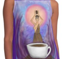 The Goddess Caffeina  Contrast Tank