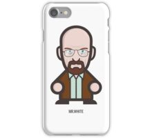 Breaking Bad Icon Set - MR. WHITE iPhone Case/Skin