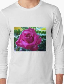 Roses From My Hubby Long Sleeve T-Shirt