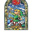 Zelda Stained Glass by jackandcharlie