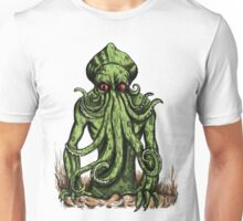 Cthulhu Attacks colour Version Unisex T-Shirt