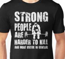 Strong People (Deadlift) Unisex T-Shirt