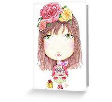 Cake Lady Greeting Card