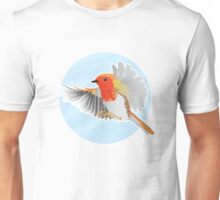 A Beautiful British Robin Unisex T-Shirt