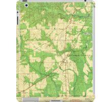 USGS TOPO Map Alabama AL Theodore 305446 1943 iPad Case/Skin