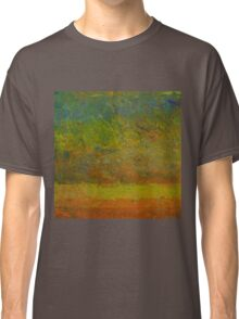 Abstract Landscape Series - Golden Dawn Classic T-Shirt