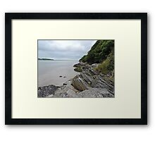 Welsh Slants Framed Print