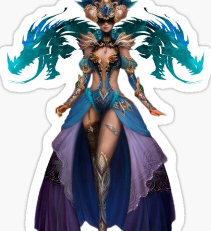 Guild Wars 2 - Human Elementalist Sticker