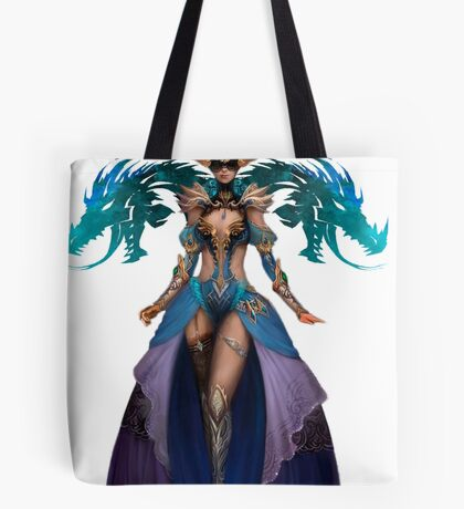 Guild Wars 2 - Human Elementalist Tote Bag