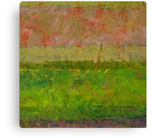 Abstract Landscape Series - Summer Fields Canvas Print