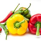 Mixed Peppers 2 by Steve Purnell