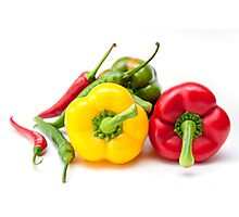 Mixed Peppers 2 Photographic Print