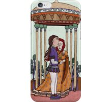 Happy new year for those who open their heart for love iPhone Case/Skin