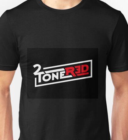 2 Tone Red Unisex T-Shirt