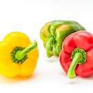 Mixed Peppers 1 by Steve Purnell