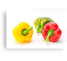 Mixed Peppers 1 Canvas Print
