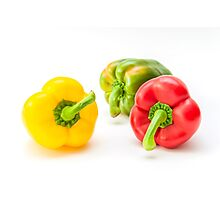 Mixed Peppers 1 Photographic Print