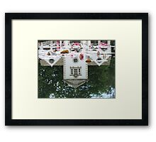 Reflected Pin Mill Framed Print