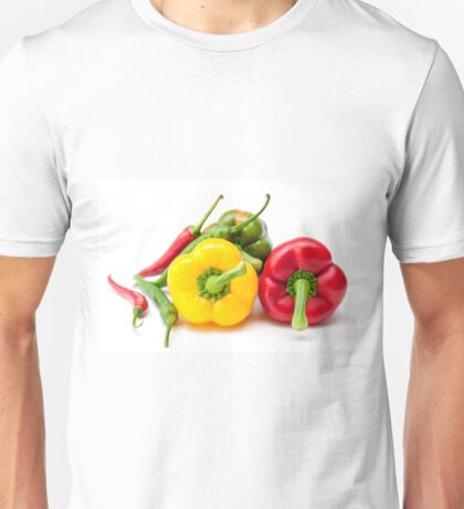 Mixed Peppers 2 Unisex T-Shirt