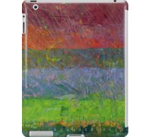 Abstract Landscape Series - Blue Waters iPad Case/Skin