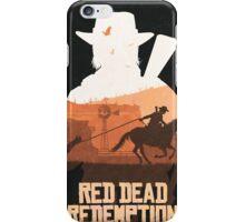 Red Dead Redemption #7 iPhone Case/Skin