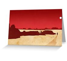 Red Dead Redemption #8 Greeting Card