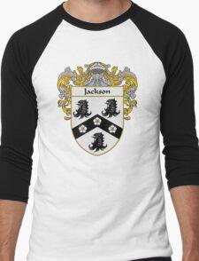 Jackson Coat of Arms/Family Crest Men's Baseball ¾ T-Shirt