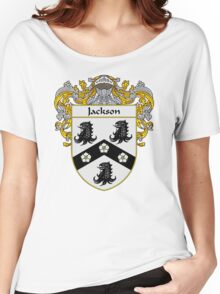 Jackson Coat of Arms/Family Crest Women's Relaxed Fit T-Shirt