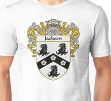 Jackson Coat of Arms/Family Crest Unisex T-Shirt