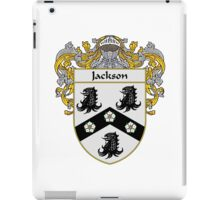 Jackson Coat of Arms/Family Crest iPad Case/Skin