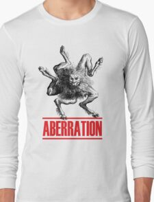 Aberration Beast Design Long Sleeve T-Shirt