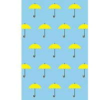 HIMYM Yellow Umbrella Photographic Print