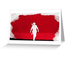Red Dead Redemption #10 Greeting Card