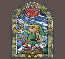 Zelda Stained Glass One Piece - Short Sleeve