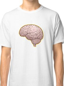 Brain with Orange Glow Classic T-Shirt