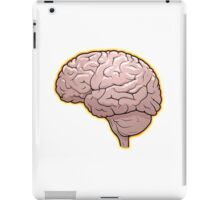 Brain with Orange Glow iPad Case/Skin