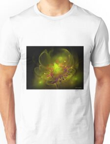 Hearty glow flower Unisex T-Shirt