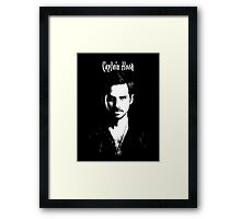 Captain Hook - Killian Jones Framed Print