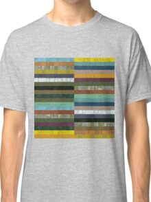 Wooden Abstract lX Classic T-Shirt