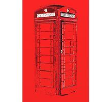 Abstract phone box Photographic Print