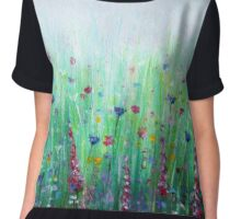 Flower Meadow Surprise Chiffon Top