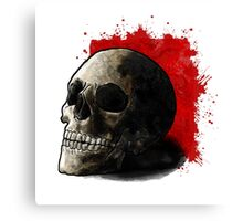 Skull Illustration Canvas Print