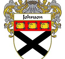 Johnson Coat of Arms/Family Crest by William Martin