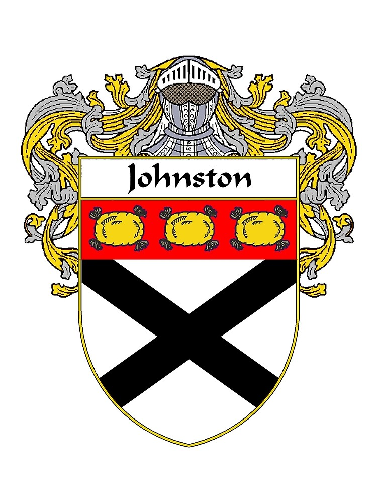 Johnston Coat of Arms/Family Crest by William Martin