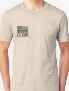 Private PV1 Infantry US Army Rank by Mision Militar ™ Unisex T-Shirt