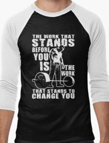The Work That Stands Before You Men's Baseball ¾ T-Shirt