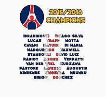 Paris Saint-Germain 2015/2016 French Champions Unisex T-Shirt