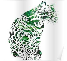 The forest ocelot Poster